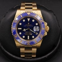 Rolex 116618 Yellow gold 2016 Submariner Date 40mm pre-owned United States of America, California, Huntington Beach