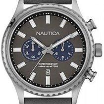 Nautica Steel Quartz NAI18511G new