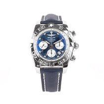 Breitling Acero Automático Azul 44mm usados Chronomat 44