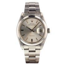 Rolex Steel Automatic Silver pre-owned Air King Date
