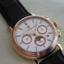 Alexander Shorokhoff Ouro rosa 42mm Corda manual usado