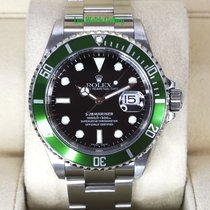 Rolex Submariner Date 16610LV 2002 pre-owned