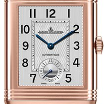 Jaeger-LeCoultre Rose gold Automatic Silver Arabic numerals 47mm new Reverso Duoface