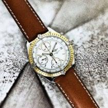 Breitling Chronomat Or/Acier 39mm Blanc Sans chiffres France, Marseille