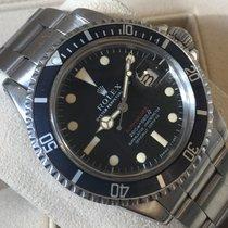 Rolex Submariner Date Acero 40mm Rojo Sin cifras
