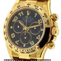 Rolex Daytona 18k Yellow Gold Blue Dial