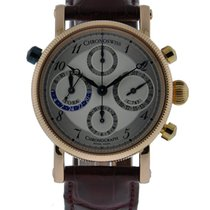 Chronoswiss Tora Chronograph 18kt Rose Gold Silver Dial On...