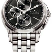Maurice Lacroix Pontos Chronographe new 2021 Automatic Chronograph Watch with original box pt6188-ss002-330