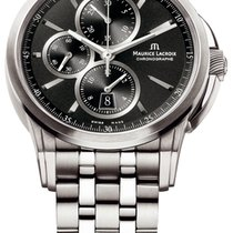 Maurice Lacroix Steel 43mm Automatic Pontos Chronographe new United States of America, New York, Airmont
