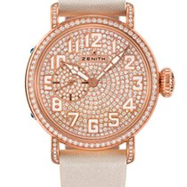 Zenith Pilot Montre d'Aeronef Type 20 Lady 18K Rose Gold &...