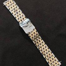 Breitling Pilot Bracelet Steel&Gold 20 mm for Breitling