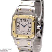 Cartier Santos Ref-W20012C4 18k Yellow Gold/Stainless Steel...