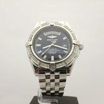 Breitling Windrider Headwind Day Date Diamonds Ref.A45355