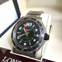 Longines Admiral L3.668.4.56.6 2012 pre-owned
