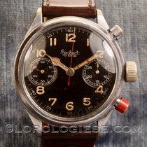 Hanhart Original 1944 Fliegerchronograph Military Flyback...