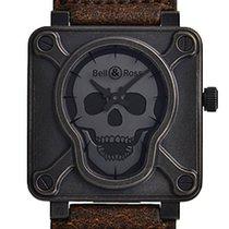 ベル & ロスBR-X1 ・中古・時計 (説明書付き、化粧箱入り)・スチール