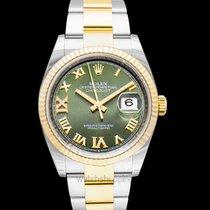 Rolex Datejust Yellow gold Green United States of America, California, San Mateo