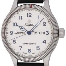 Tutima 43mm Automatic 2014 pre-owned Grand Classic Silver