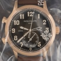 Patek Philippe 42mm Automatic new Travel Time Brown