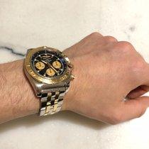 Breitling Chronomat 44 Guld/Stål 44mm Svart Sverige, Farsta