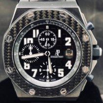 Audemars Piguet Royal Oak Offshore Chronograph Stal 42mm Czarny Arabskie