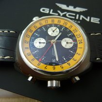 Glycine Airman Chronograph  GMT Dial PILOT's  New box papers