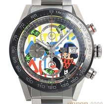 TAG Heuer CAR201AA.BA0714 Steel 2019 Carrera Calibre HEUER 01 43mm new