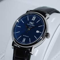 IWC Portofino Automatic Staal 40mm Blauw Romeins Nederland, Vught