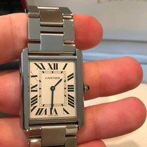 Cartier Tank Solo pre-owned Steel