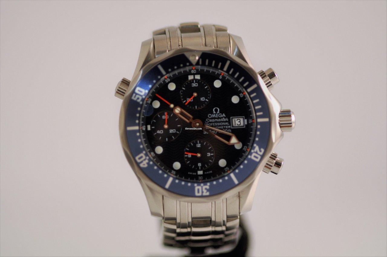 53b3413df2d Omega Seamaster Aço - Todos os preços de relógios Omega Seamaster Aço na  Chrono24