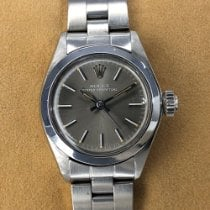 Rolex Oyster Perpetual 26 Acero 25mm Gris Sin cifras