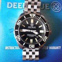 Deep Blue Acier 45mm Remontage automatique 0383 occasion