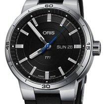 Oris TT1 Steel 42mm Black
