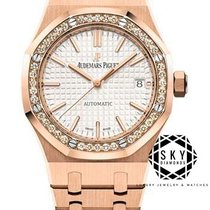 Audemars Piguet Royal Oak Lady Rose gold 37mm White