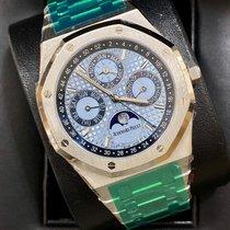 Audemars Piguet Royal Oak Perpetual Calendar Platinum 41mm Blue