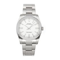 Rolex Oyster Perpetual 36 Steel 36mm White No numerals