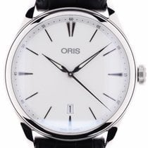 Oris new Automatic Guilloché dial Luminous hands 40mm Steel Sapphire crystal