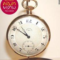 Ebel Saat ikinci el Sarı altın 45mm Arapça Elle kurmalı Sadece saat
