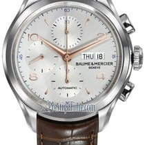 Baume & Mercier Clifton Steel 43mm Silver United States of America, New York, Airmont