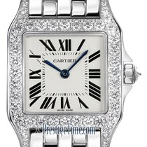 Cartier Santos Demoiselle White gold 26mm Silver United States of America, New York, Airmont