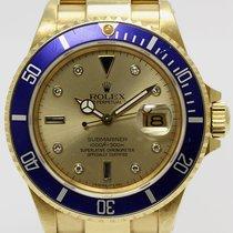 Rolex 16808 Gelbgold 1986 Submariner Date gebraucht Deutschland, München