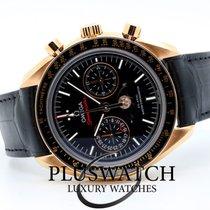 Omega Speedmaster Professional Moonwatch Moonphase Oro rosado 44,25mm Negro Sin cifras