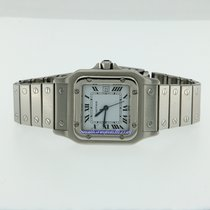 Cartier Santos Galbe Automatic Steel 29X29mm TOTAL BLACK FRIDAY