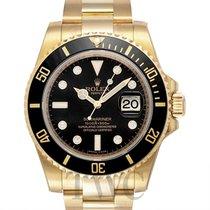 롤렉스 (Rolex) Submariner Black/18k gold Dia Ø40mm - 116618GLN