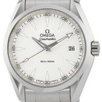 Omega Aqua Terra 150M Quartz 38MM Silver Dial Men Watch...