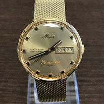 Mido Ocean Star datoday Vintage Gold 14K