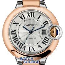 Cartier Ballon Bleu 36mm new Automatic Watch with original box