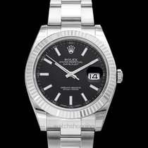 Rolex Datejust White gold 41.00mm Black United States of America, California, San Mateo
