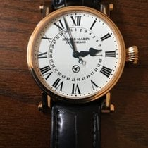 Speake-Marin Serpent calendar, 18 K gold, 38 mm
