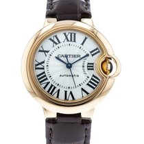 Cartier Ballon Bleu 33mm Rose gold 33mm Silver